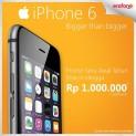 Promo Erafone awal tahun iPhone 6! Dapatkan diskon hingga 1 juta