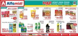 Promo Hemat Awal Pekan di Alfamidi 7 – 10 Maret 2016