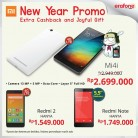 Promo ERAFONE Xiaomi New Year! Get Extra Cashback and Joyful Gift
