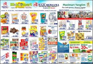 Promo MAXIMART minggu ini 24 – 27 November 2016