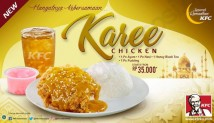 KFC Menu NEW! KFC Karee Chicken! Paket Combo mulai Rp. 35.000*