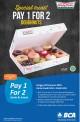 Promo KRISPY KREME Pay 1 for 2 setiap SENIN dan JUMAT dengan KARTU DEBIT dan KARTU KREDIT BCA
