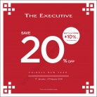 The EXECUTIVE CHINESE NEW YEAR SALE! SAVE 20% OFF